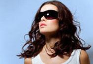 Zonnebril voor haar